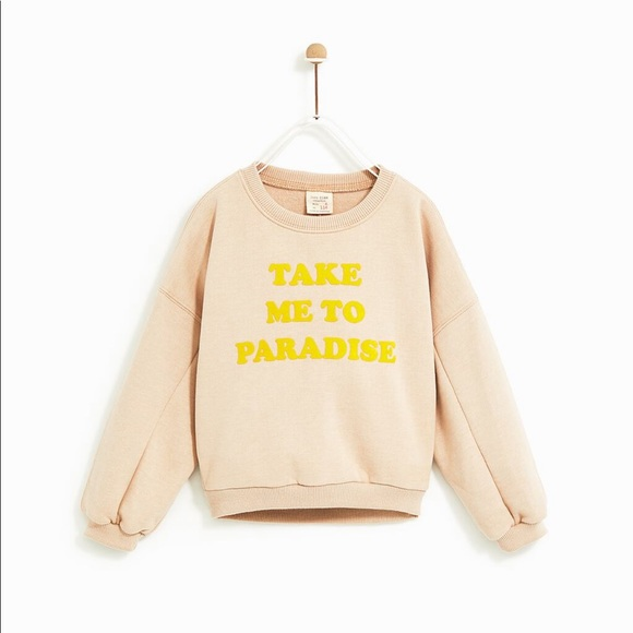 Zara Other - Take 💚💚me to Paradise sweater